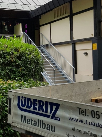 Treppe Nordkurve Hannover Maschsee
